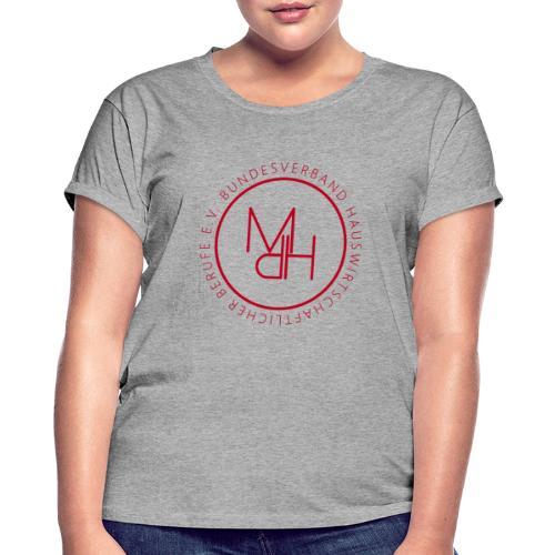 MdH-Siegel - Frauen Oversize T-Shirt
