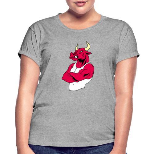 adhex toro - Camiseta holgada de mujer
