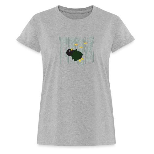Pingouin Bullet Time - T-shirt oversize Femme