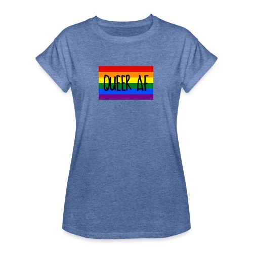 queer af - Frauen Oversize T-Shirt