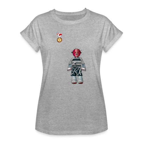 Trashcan - Frauen Oversize T-Shirt