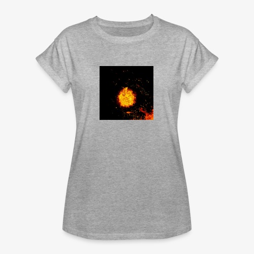 FIRE BEAST - Vrouwen oversize T-shirt