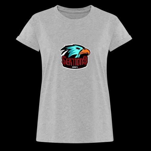 Sektion9 Logo Schwarz - Frauen Oversize T-Shirt
