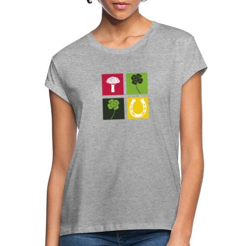 Just my luck Glück - Frauen Oversize T-Shirt