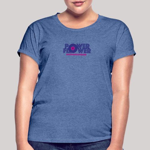 Logo PowerFlower colori - Maglietta ampia da donna