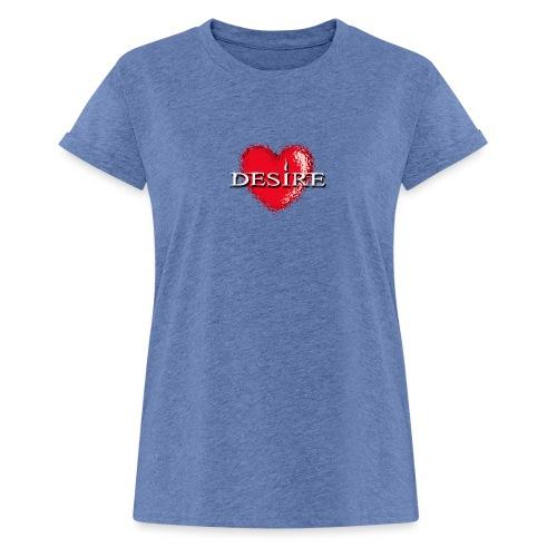 Desire Nightclub - Women's Oversize T-Shirt
