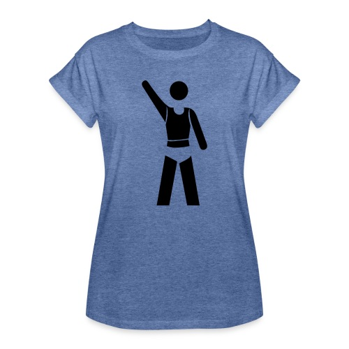 icon - Frauen Oversize T-Shirt