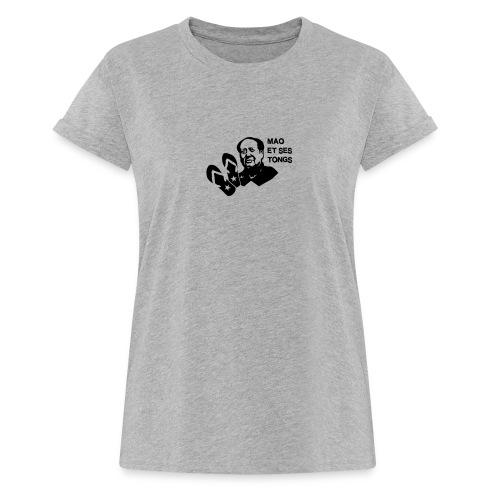 MAO et ses tongs - T-shirt oversize Femme