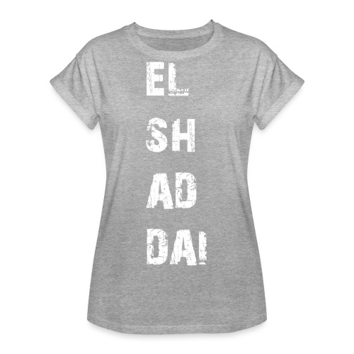 EL SH AD DAI 2 - Frauen Oversize T-Shirt