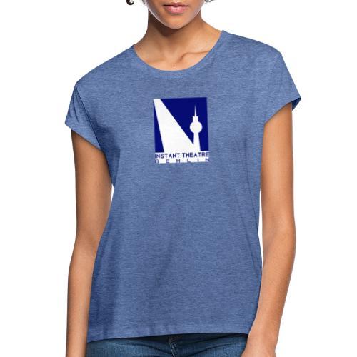 Instant Theater Berlin logo - Women's Oversize T-Shirt