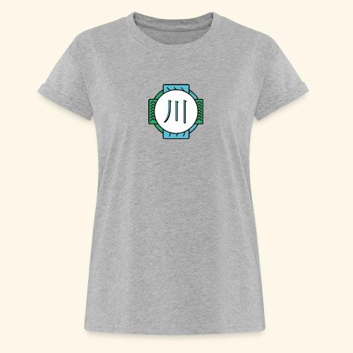 RIVER - T-shirt oversize Femme