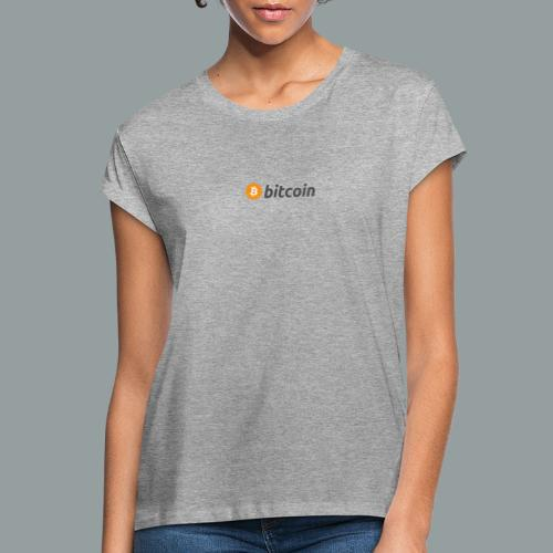 Bitcoin Logo #BTC - Camiseta holgada de mujer