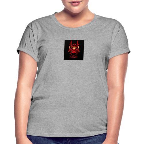 HrWulff Gaming Logo - Dame oversize T-shirt