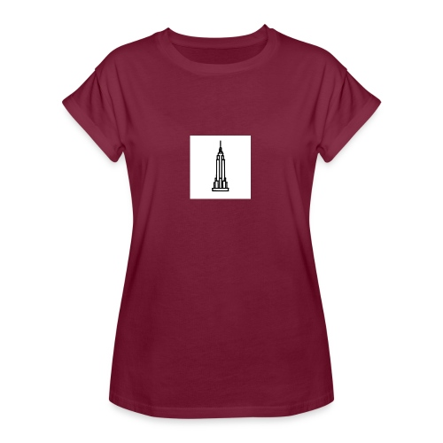 Empire State Building - T-shirt oversize Femme