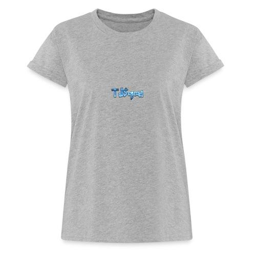 TJ SQUAD MERCH!!! - Women's Oversize T-Shirt