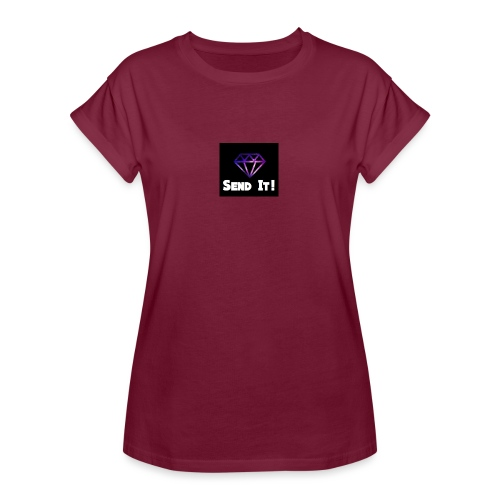 Send It Streetwear galaxy Tee - Women's Oversize T-Shirt