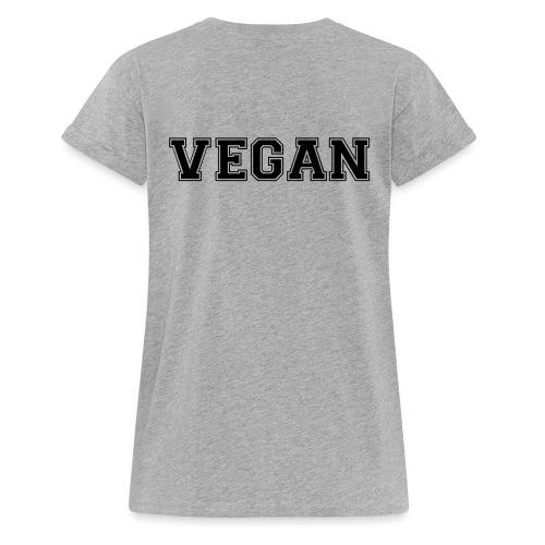 Vegan sports - Naisten oversized-t-paita