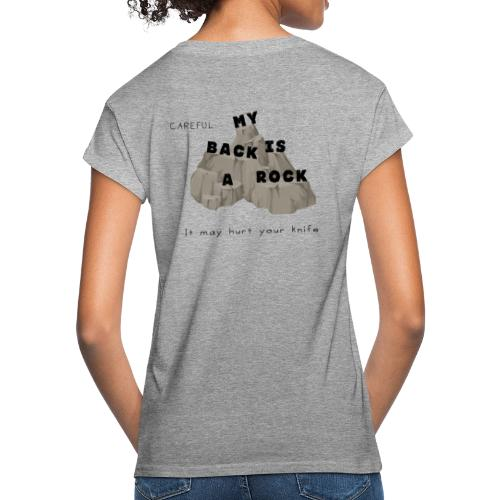 Back rock - Frauen Oversize T-Shirt