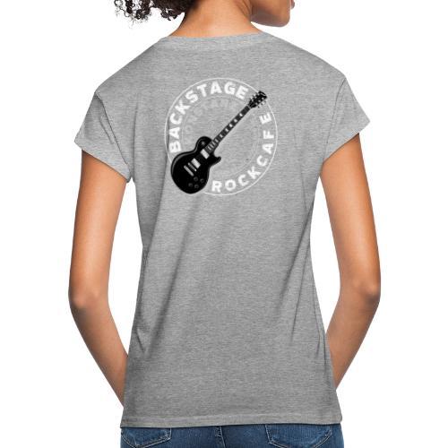logo neu retro weiss transparent - Frauen Oversize T-Shirt
