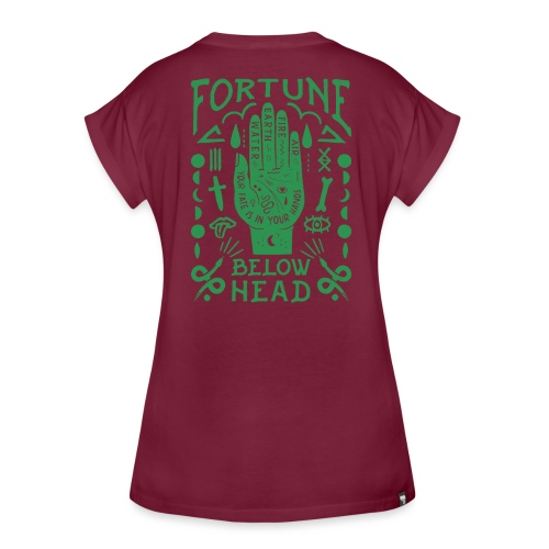 Voodoo green - Frauen Oversize T-Shirt