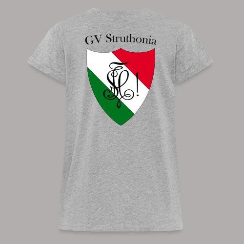 Wappen Struthonia beschriftet - Frauen Oversize T-Shirt