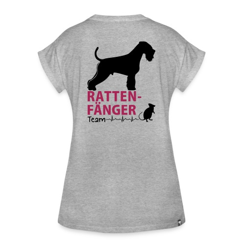 Team Rattenfänger - Frauen Oversize T-Shirt