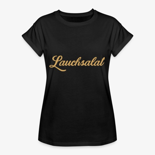 PorrOro - Frauen Oversize T-Shirt