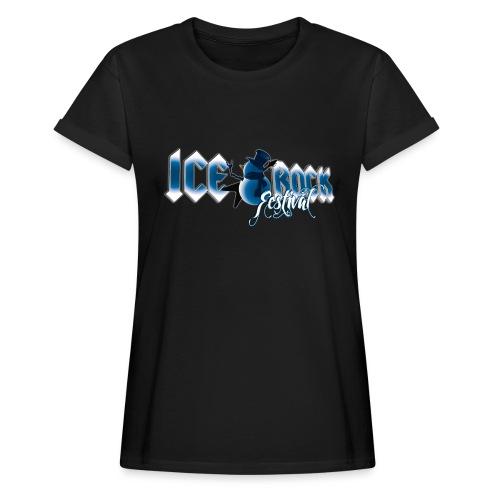 Schriftzug normal - Frauen Oversize T-Shirt
