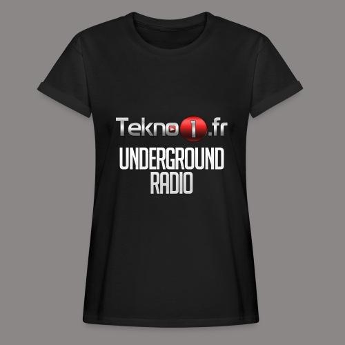 logo tekno1 2000x2000 - T-shirt oversize Femme