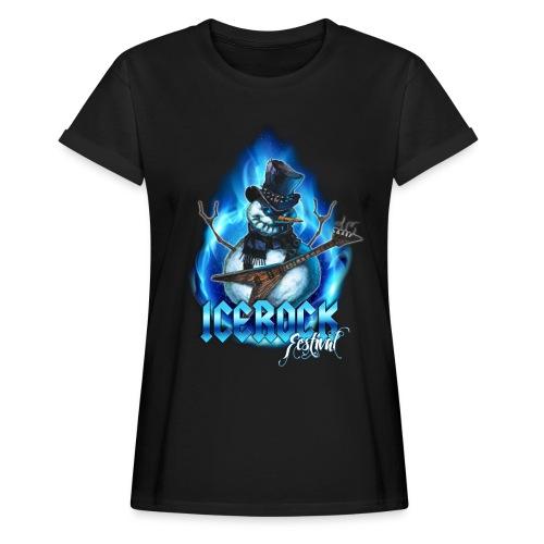 Snowman Evil - Frauen Oversize T-Shirt