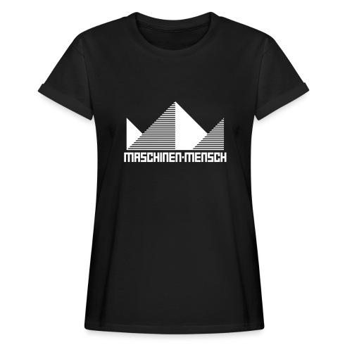 Maschinen-Mensch Logo black - Frauen Oversize T-Shirt