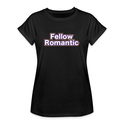 Fellow Romantic Logo - Women's Oversize T-Shirt