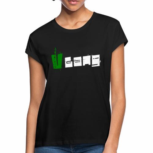 V Gang Vegan Vegetarier Lifestyle Shirt T-Shirt - Frauen Oversize T-Shirt