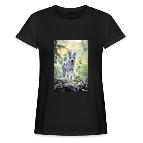 La Tanière des Chiens-Loups - T-shirt oversize Femme