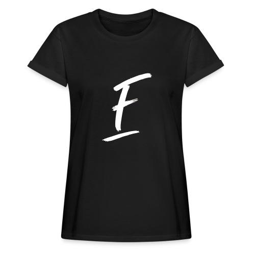 Radio Fugue F Blanc - T-shirt oversize Femme