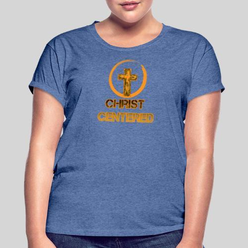 Christ Centered Focus on Jesus - Frauen Oversize T-Shirt
