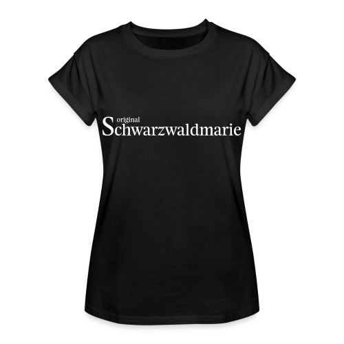 Schwarzwaldmarie - Frauen Oversize T-Shirt