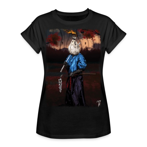 Kinchakumi - T-shirt oversize Femme