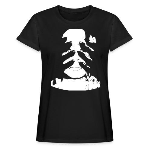 COMIC   MONSTER   HORROR   GEIST   HÄNDE   KOPF - Frauen Oversize T-Shirt