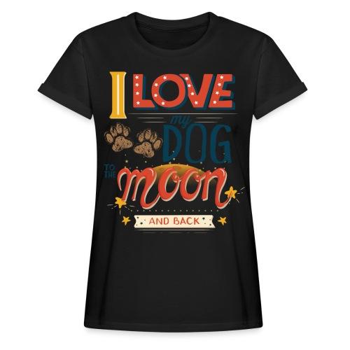Moon Dog Light - Oversize-T-shirt dam