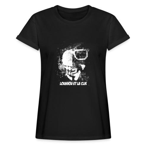 L1 - T-shirt oversize Femme