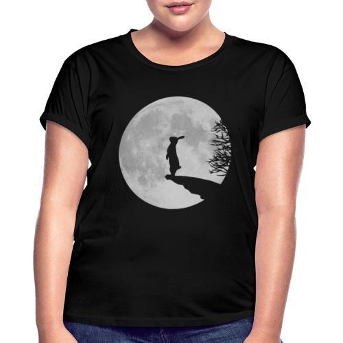 Wolfinchen hase kaninchen häschenosterhase bunny - Frauen Oversize T-Shirt