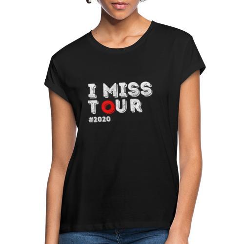 I miss tour #2020 t-shirt - T-shirt oversize Femme
