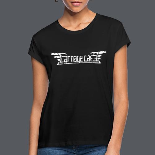 Carnage Cafe logo - Oversize-T-shirt dam