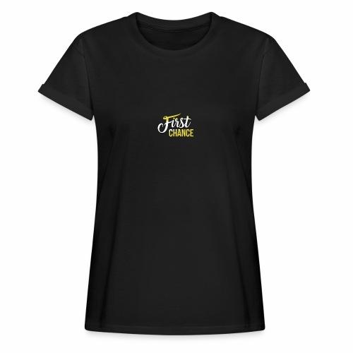 Logo Album First Chance - T-shirt oversize Femme