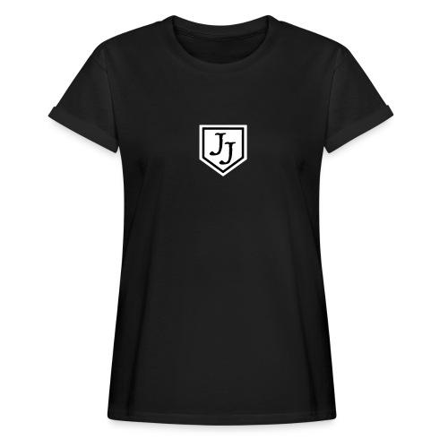 JJ logga - Oversize-T-shirt dam
