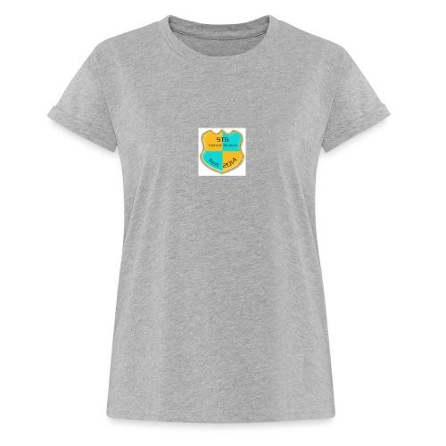 STG Vienna Kickers Logo - Frauen Oversize T-Shirt