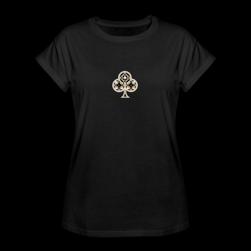 Clover Dark & Bright - T-shirt oversize Femme