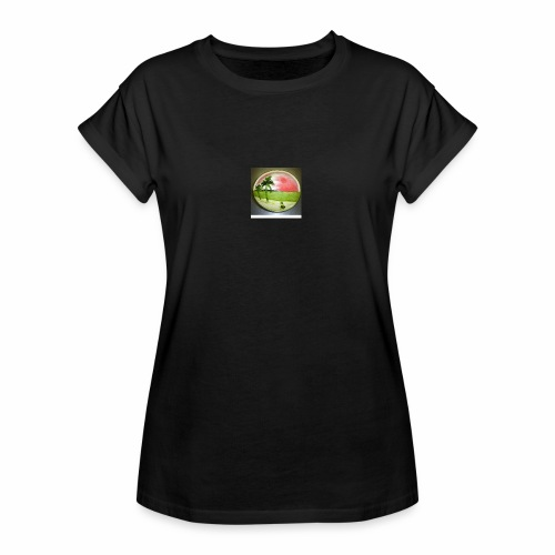 melon view - Women's Oversize T-Shirt