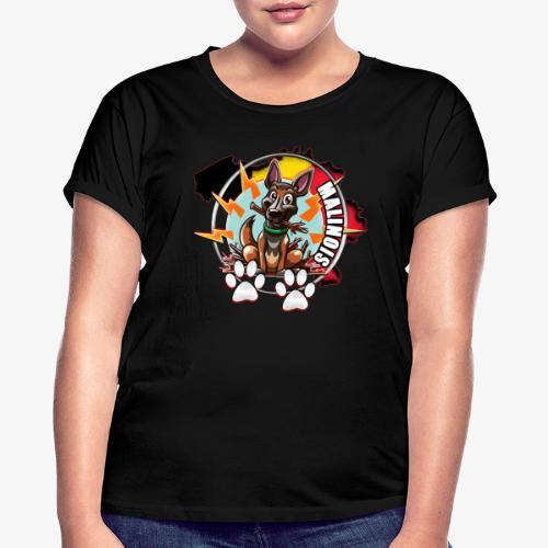 malinois - T-shirt oversize Femme